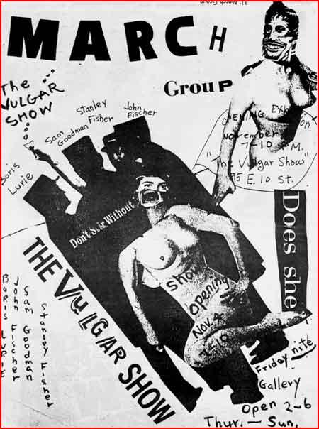 Vulgar show poster