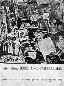 Lurie & Goodman: Doom show, Rome 1962, catalog