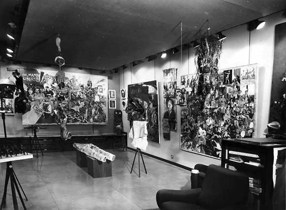 Lurie & Goodman, Galerie Schwarz, Milan, gallery view 1962