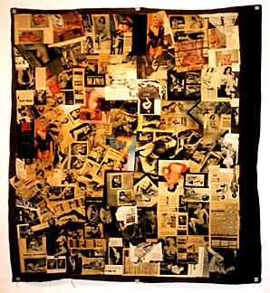 Boris Lurie, Collage