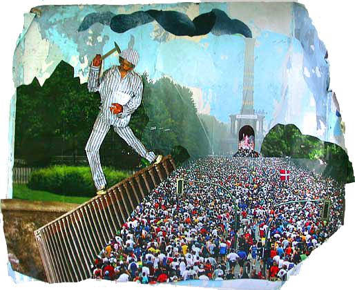 Meseck und Wall: Arbeit macht frei, 2004