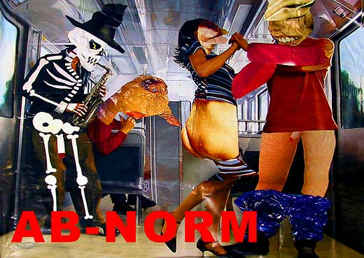 AB-NORM Show 2003, Einladungskarte